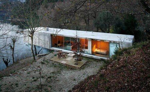 葡萄牙公园深处的Casa No Gere