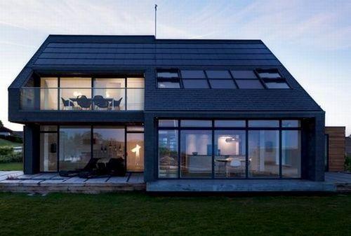 丹麦的环保建筑生产的能量多于消耗的。