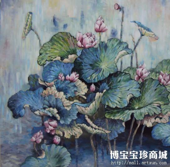 唐春艳油画作品欣赏 落笔洒脱