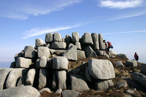 苏格兰的石头