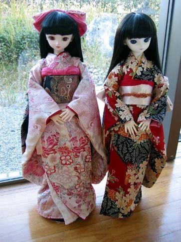 日本神社传统娃娃