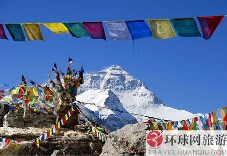 西藏:珠穆朗玛峰