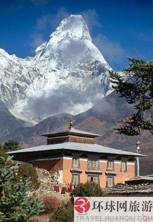 尼泊尔,阿玛达布拉姆峰