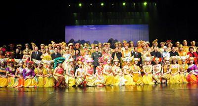 《八桂大歌》在国家最高艺术殿堂展演