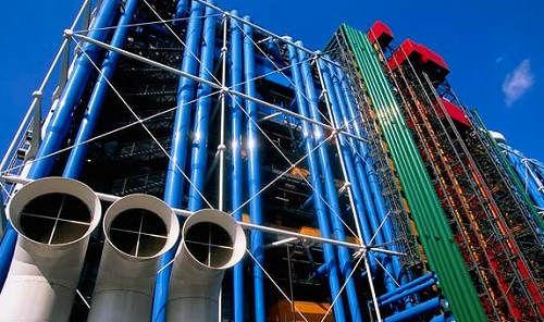 巴黎蓬皮杜艺术中心
