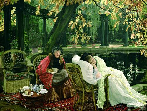 富贵人家为举办一场下午茶会,在花园里搭帐篷,请专门的乐队,做精致的点心,定制昂贵的糕饼,煞费苦心,不亚于一场大型私家宴会。