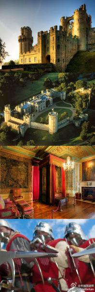 华威Warwick城堡位居英国人票选的城堡Top10之首