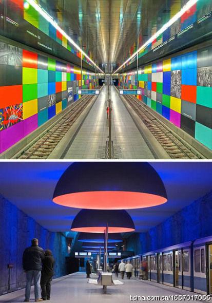 慕尼黑城市地铁站(德国)