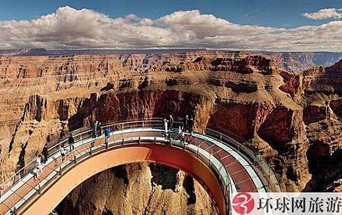 美国亚利桑那州大峡谷观光天桥