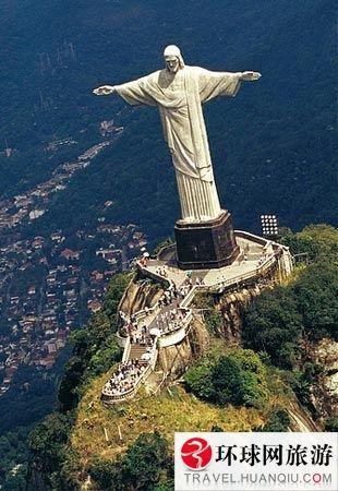 巴西救世主耶稣雕像