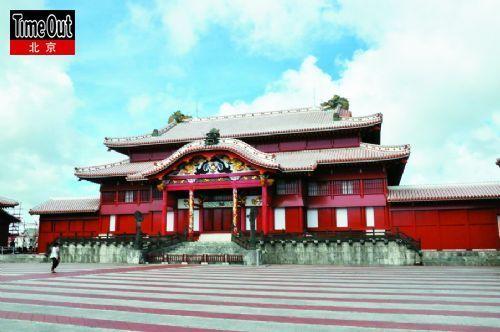 首里城――古琉球王国的都城,唐风浓郁。