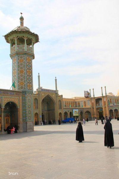 伊朗清真寺 摄影:钠鲁格亚