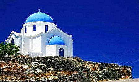 希腊福莱甘兹罗斯小镇