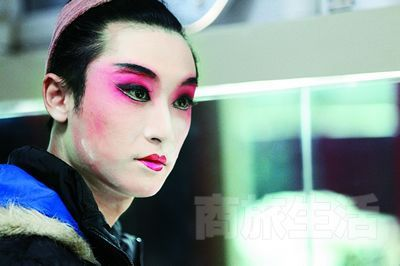 《梅兰芳华》中旦角扮演者刘欣然。