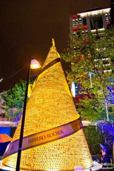 金光闪闪圣诞树