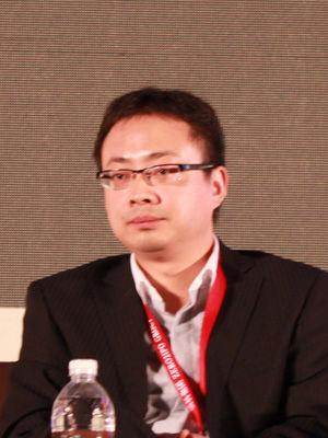 百度上海分公司总经理钱程钱程。(资料图片)