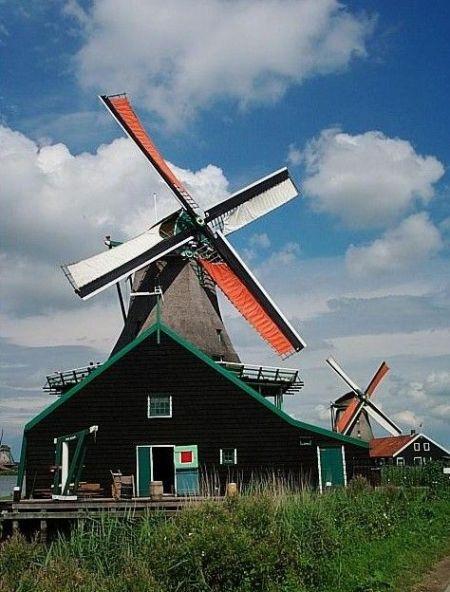 桑斯安斯风车村――宛若时光穿梭的风车古镇