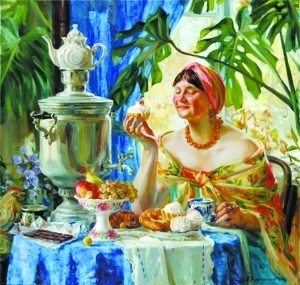俄罗斯的独特茶文化