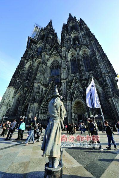 科隆大教堂是科隆的骄傲,也是科隆的标志。