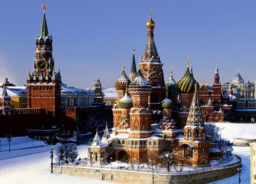 下雪时的圣彼得堡是什么样子