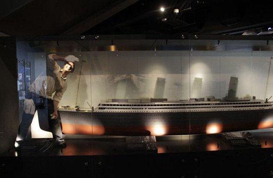 泰坦尼克号模型