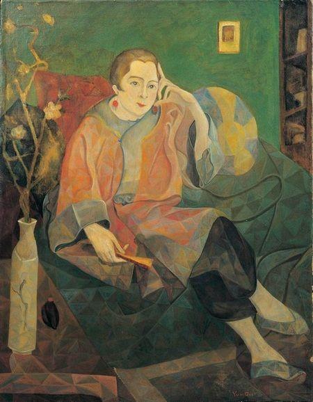 朱沅芷《穆哈特王妃》油画画布 90.5×70.6cm 1929