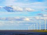 江苏新型清洁能源-海上风电场