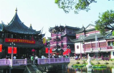 上海城隍庙风情 朱桂莲