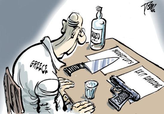 希腊困境。(图片来源:绘图Tom Janssen)