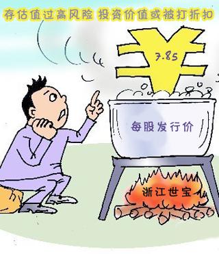 浙江世宝原计划募集5.1亿 发行价7.85元/股