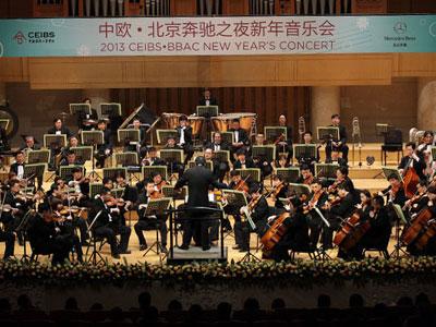 2013中欧-北京奔驰之夜新年音乐会