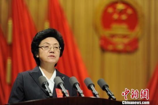 安徽省省长在人代会上表示:不做群众反感的事 张娅子 摄
