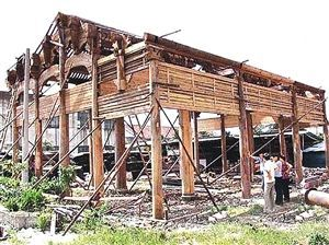 保护好古建筑的例子图片
