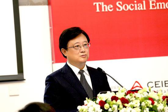 中欧中方院长朱晓明教授致开幕辞