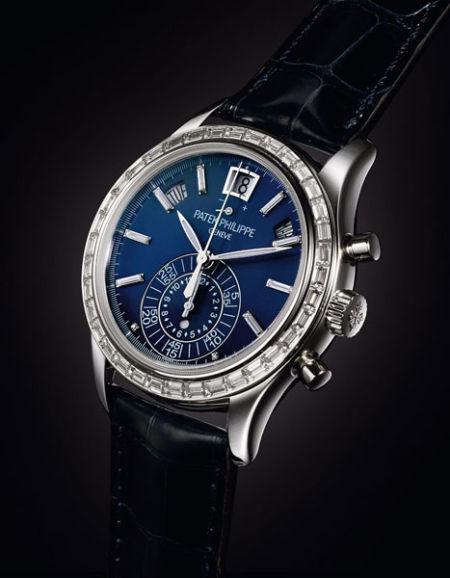 百达翡丽Patek Philippe年历计时码腕表,型号5961P