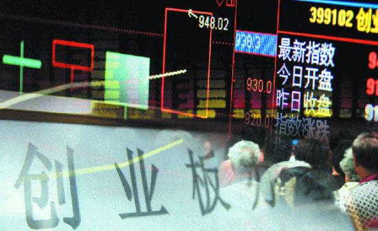 2013年,主板震荡走弱,但创业板却逆市走高,深圳指数亦然。