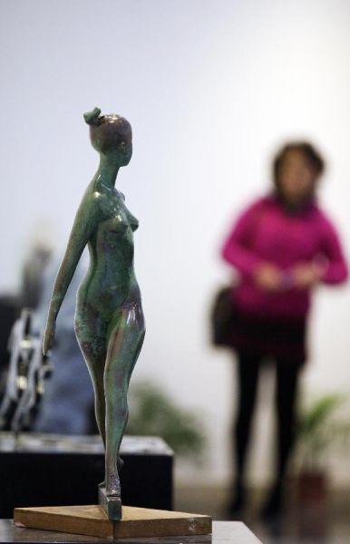 国际体育雕塑大赛优秀作品荟萃南京