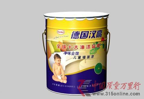 德国汉高墙面漆被检出耐洗刷性不合格