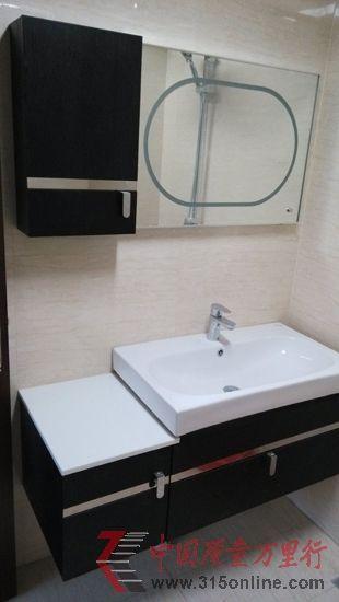 河北省王小姐家购买的澳斯曼浴室柜