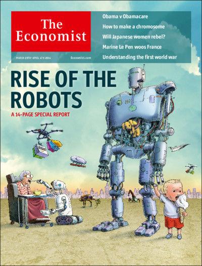 图为最新期《经济学人》杂志封面