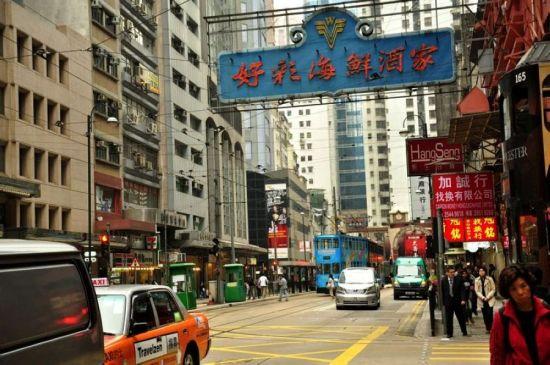 香港商业街