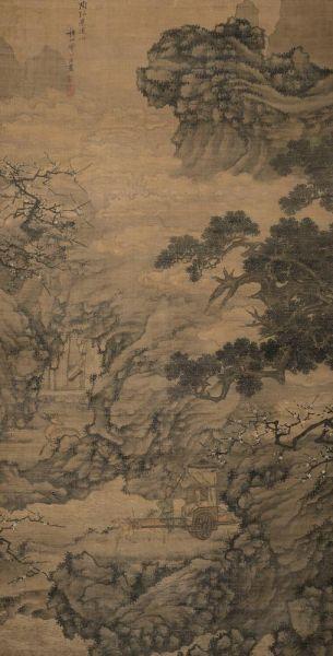 谢时臣(1487-1567) 陶弘景还山图