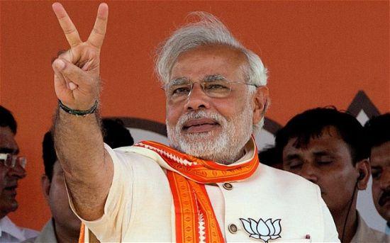 印度新总理莫迪26日正式宣誓就职。