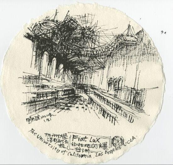 余静赣建筑速写-余静赣个展将在广州余工美术馆举办