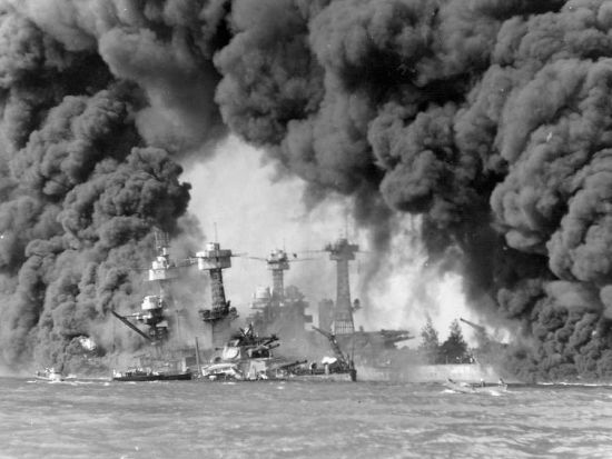 图 日本轰炸珍珠港