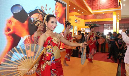 泰国商品汇聚东北亚国际商品展5号馆