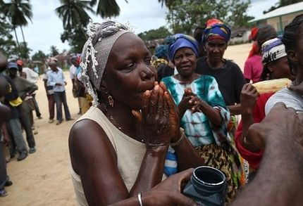 世行行长:埃博拉患者生错了国度。