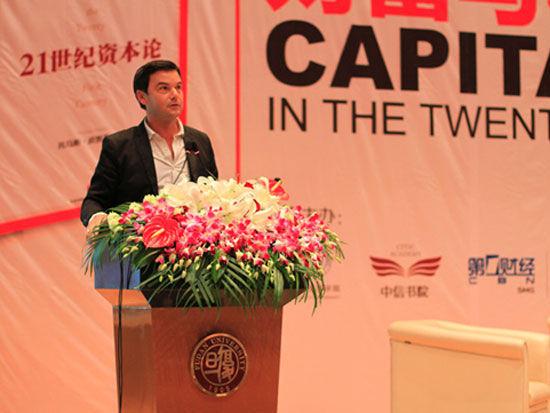 《21世纪的资本》的作者法国经济学家皮克迪(Thomas Piketty)