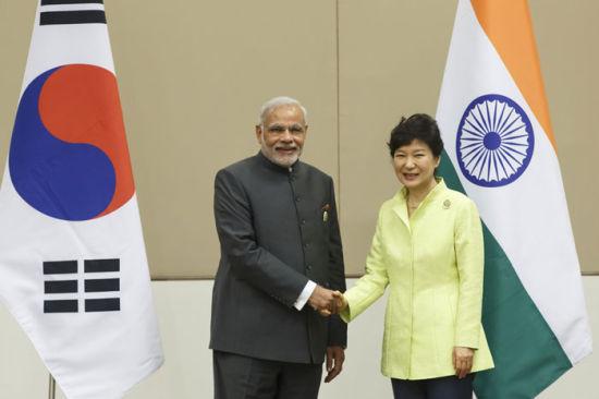 韩国和印度两国有经济互补优势