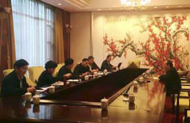 2 月3 日,中央第十三巡视组向东风汽车公司反馈专项巡视情况。   图片来源:中央纪委监察部网站